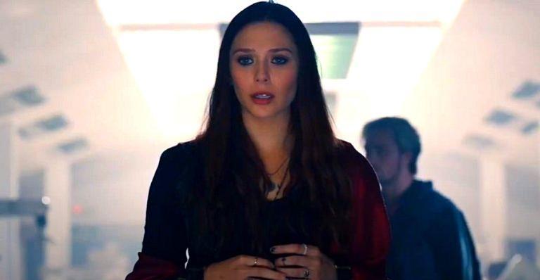 Elizabeth Olsen interpreta a Feiticeira Escarlate na Marvel