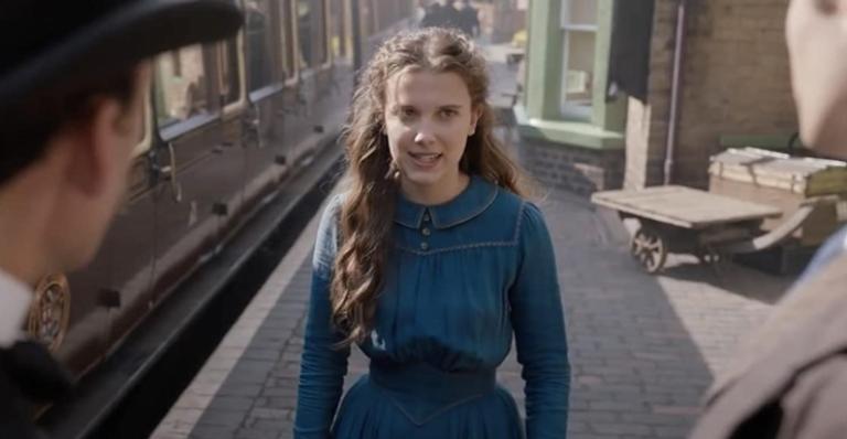A atriz de 'Stranger Things' vive a irmã de Sherlock Holmes no novo mistério da Netflix