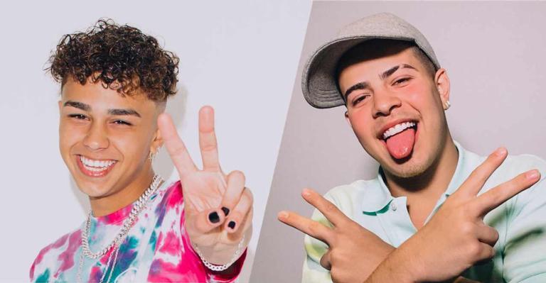 O influenciador e o cantor se apresentarão na edição deste ano do Festival Teen