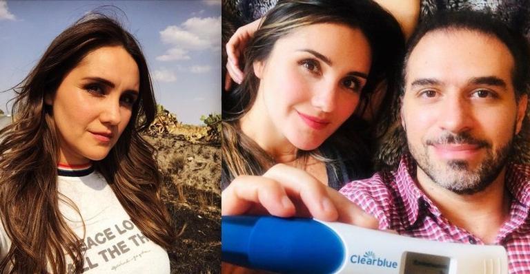 A cantora mexicana está grávida pela primeira vez