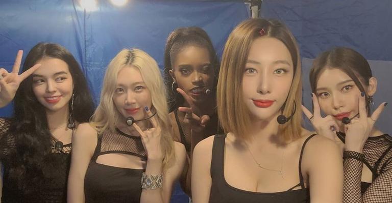 Novo girlgroup lançou seu primeiro disco