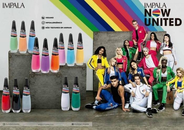 Now United lança linha de esmaltes em parceria com empresa brasileira