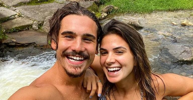 Ator passou o fim de semana em cachoeira em Nova Friburgo