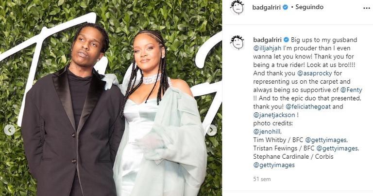 ASAP Rocky e Rihanna