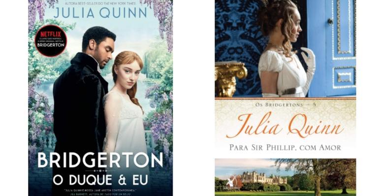 Selecionamos 9 obras da autora Julia Quinn que deu origem ao seriado Bridgerton
