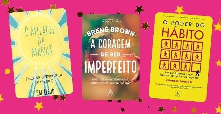 Selecionamos 6 livros para você se conhecer melhor e fazer novas descobertas