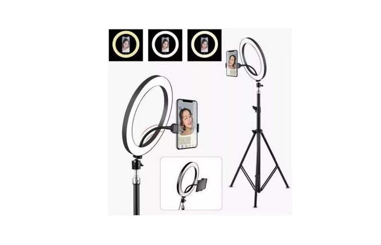 cameras,-anel-de-luz-led,-tripe-e-muito-mais:-6-itens-para-fotos-profissionais