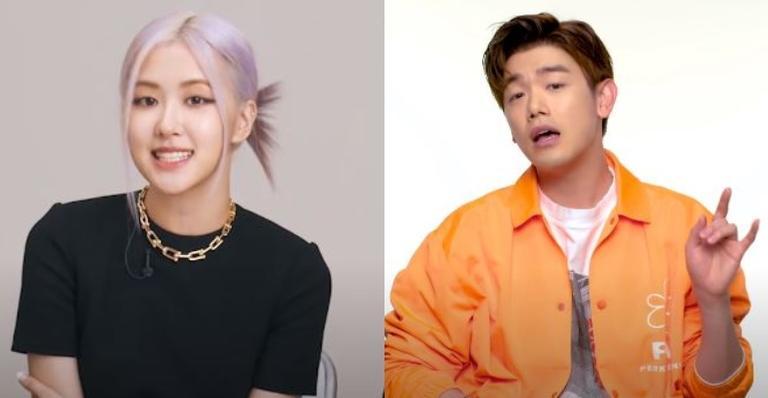 """cantor-eric-nam-revela-que-ficou-intimidado-ao-conhecer-rose,-do-blackpink:-""""me-sentindo-um-impostor"""""""