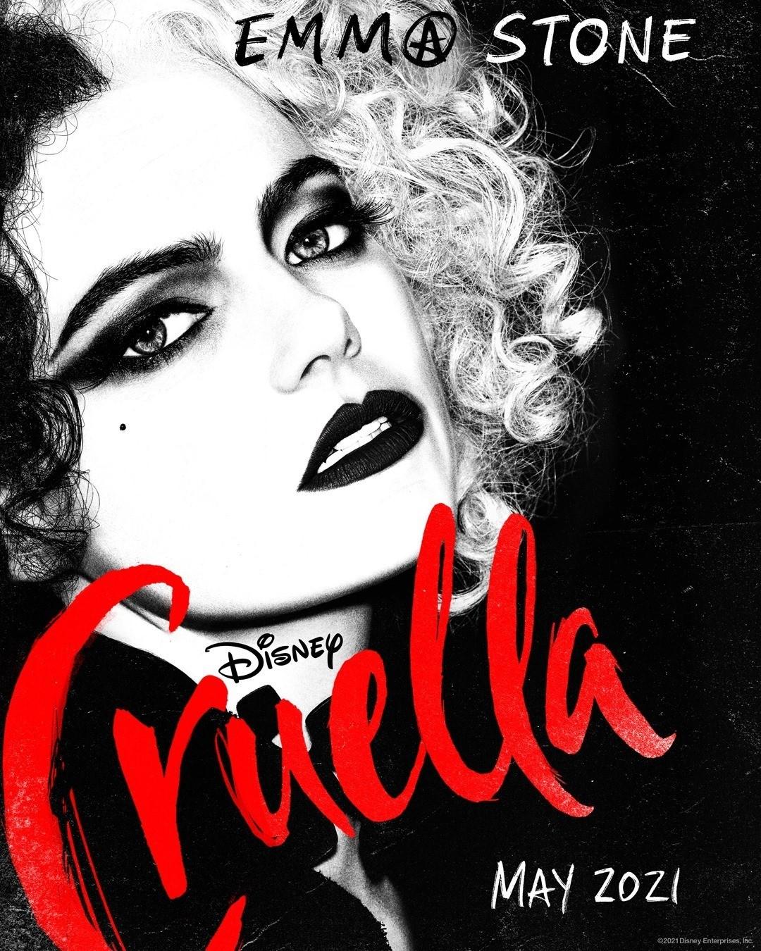 Emma Stone como Cruella - Disney