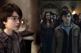 Harry Potter - antes e depois