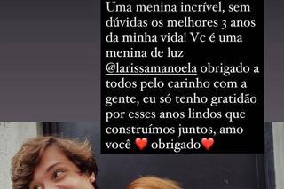 Larissa Manoela e Leo Cidade Stories
