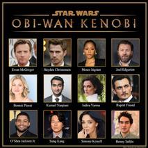 """Nova série da Lucasfilm, """"Obi-Wan Kenobi"""", tem elenco é divulgado"""