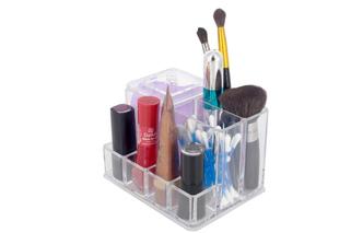 Porta maquiagem: 10 itens essenciais e práticos para organizar seus pincéis e make
