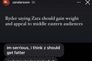 Zara Larsson demite diretor criativo, após sofrer piadas pelo seu corpo