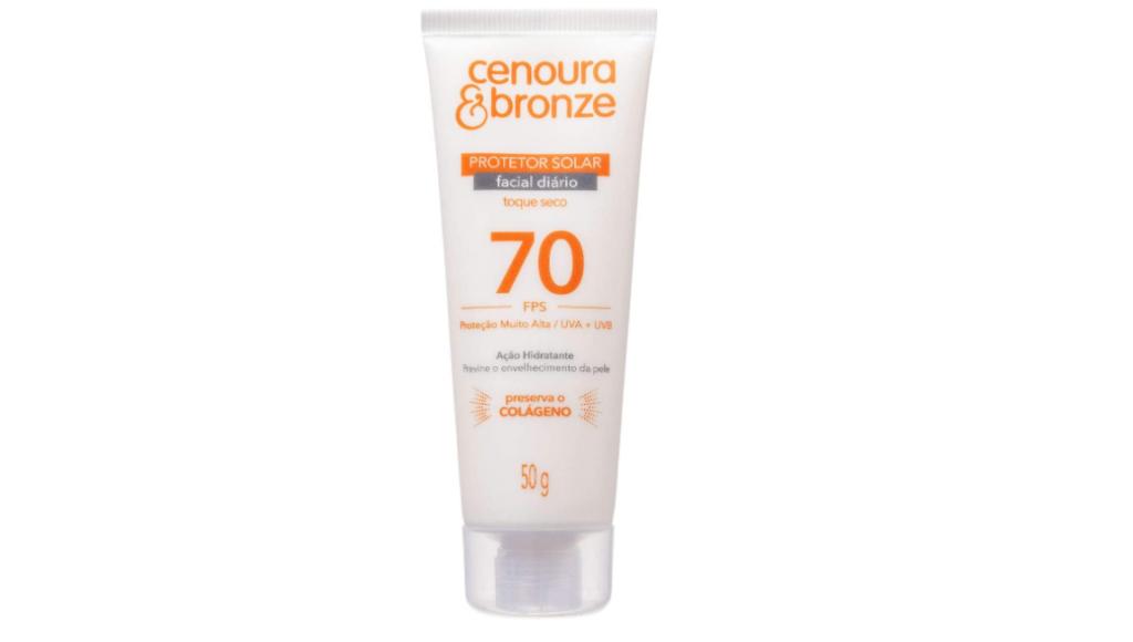 Protetores solares faciais para todos os tipos de pele