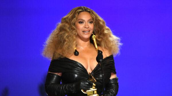 Beyoncé foi um dos destaques do Grammy 2021