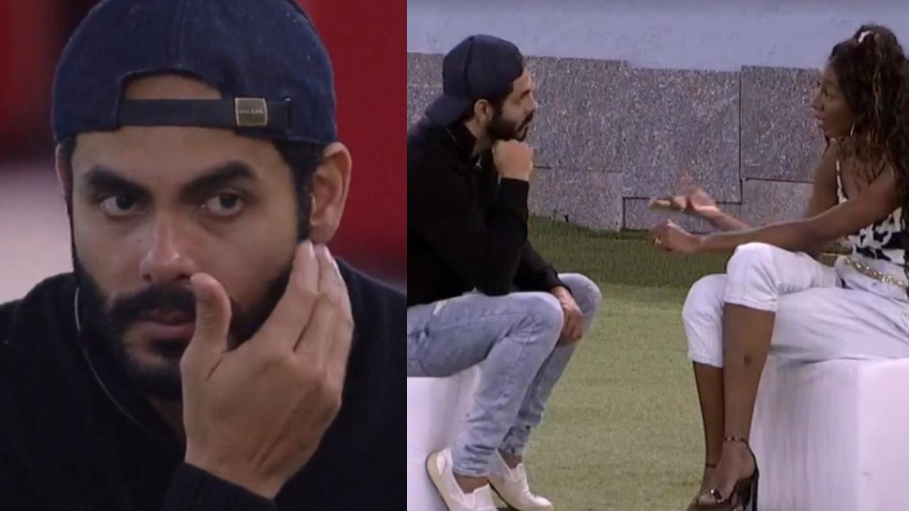 """Camilla de Lucas e Rodolffo conversam no """"Big Brother Brasil"""""""