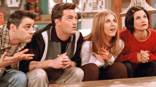 """Cena da série """"Friends"""""""