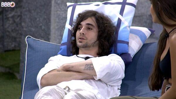 """Momento em que Fiuk revela que foi convidado para a edição de 2020 do """"Big Brother Brasil""""."""
