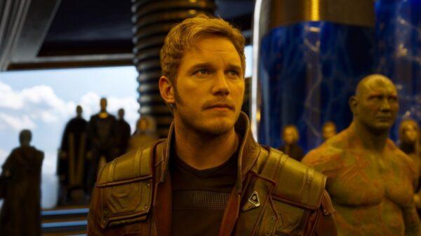 """Cena de """"Guardiões da Galáxia"""", da Marvel."""
