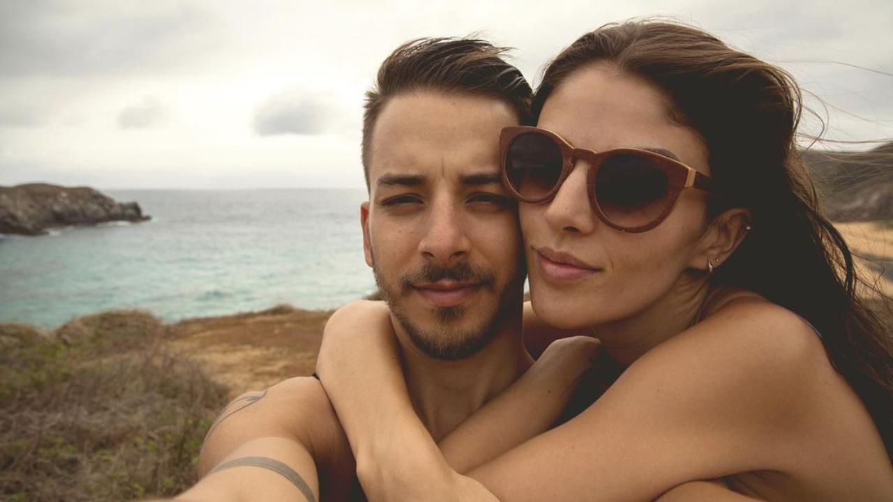 Junior Lima e sua esposa, Monica Benini
