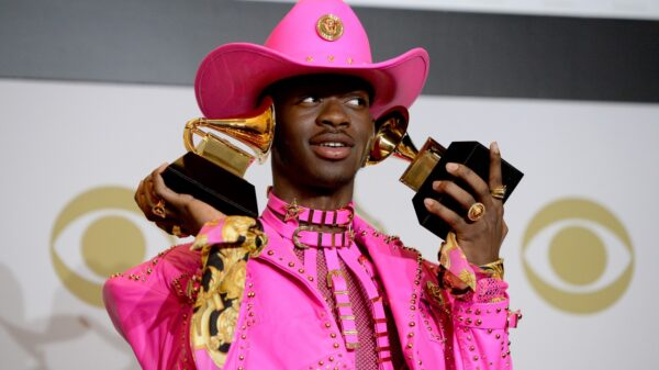 "Lil Nas X, dono da faixa ""Montero (Call Me By Your Name)""."