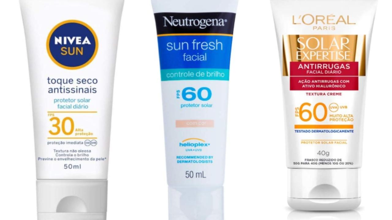Protetores solares para todos os tipos de pele