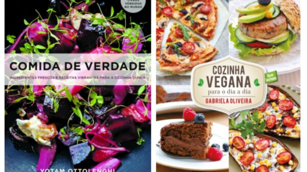 Livros de receitas veganas para melhorar a alimentação