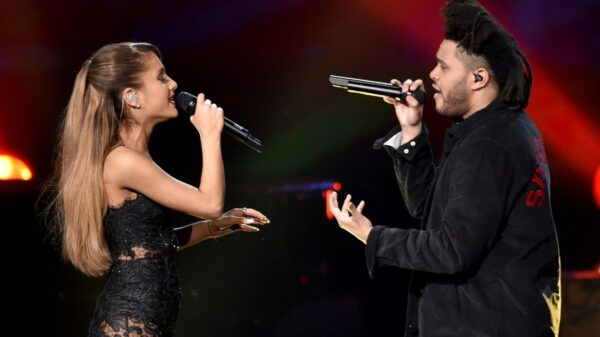 """Save Your Tears"" Remix de The Weeknd com Ariana Grande saiu!"