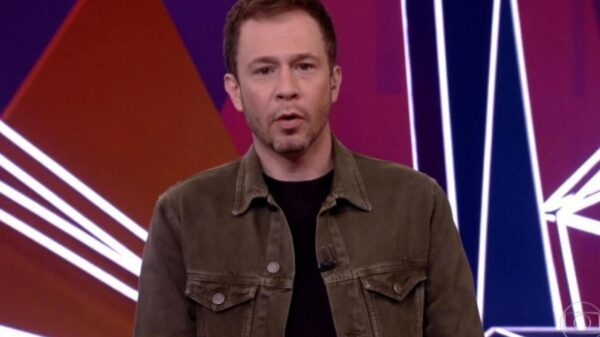 Tiago Leifert dá esporro em Rodolffo após piada racista