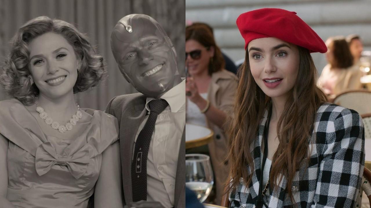 """Cenas de """"WandaVision"""" e """"Emily em Paris"""", séries mais indicadas ao MTV Movie & TV Awards de 2021"""