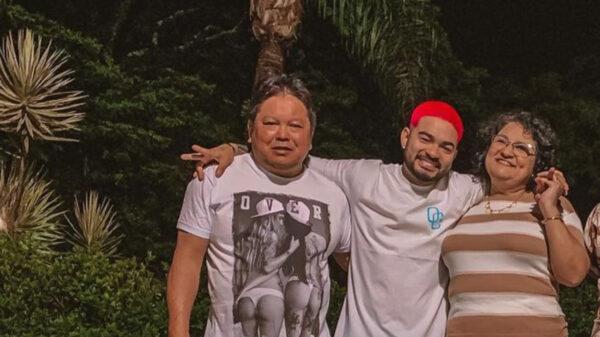 Yudi Tamashiro e família