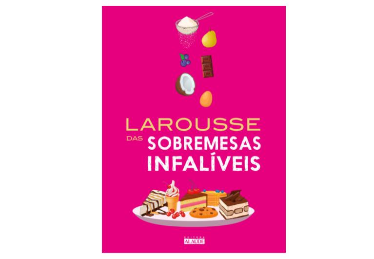 6 livros de receitas de sobremesas para conferir