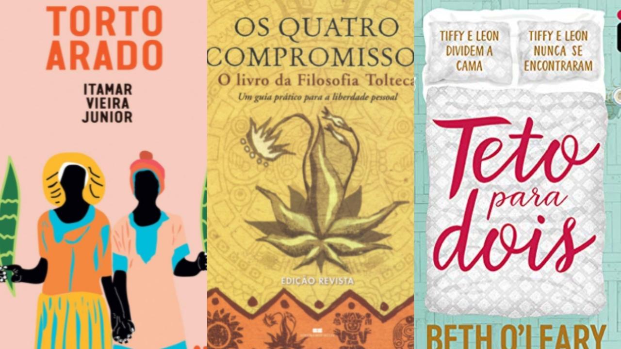 5 livros mais vendidos na Amazon