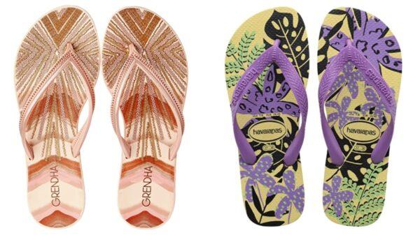 9 modelos de chinelos personalizados