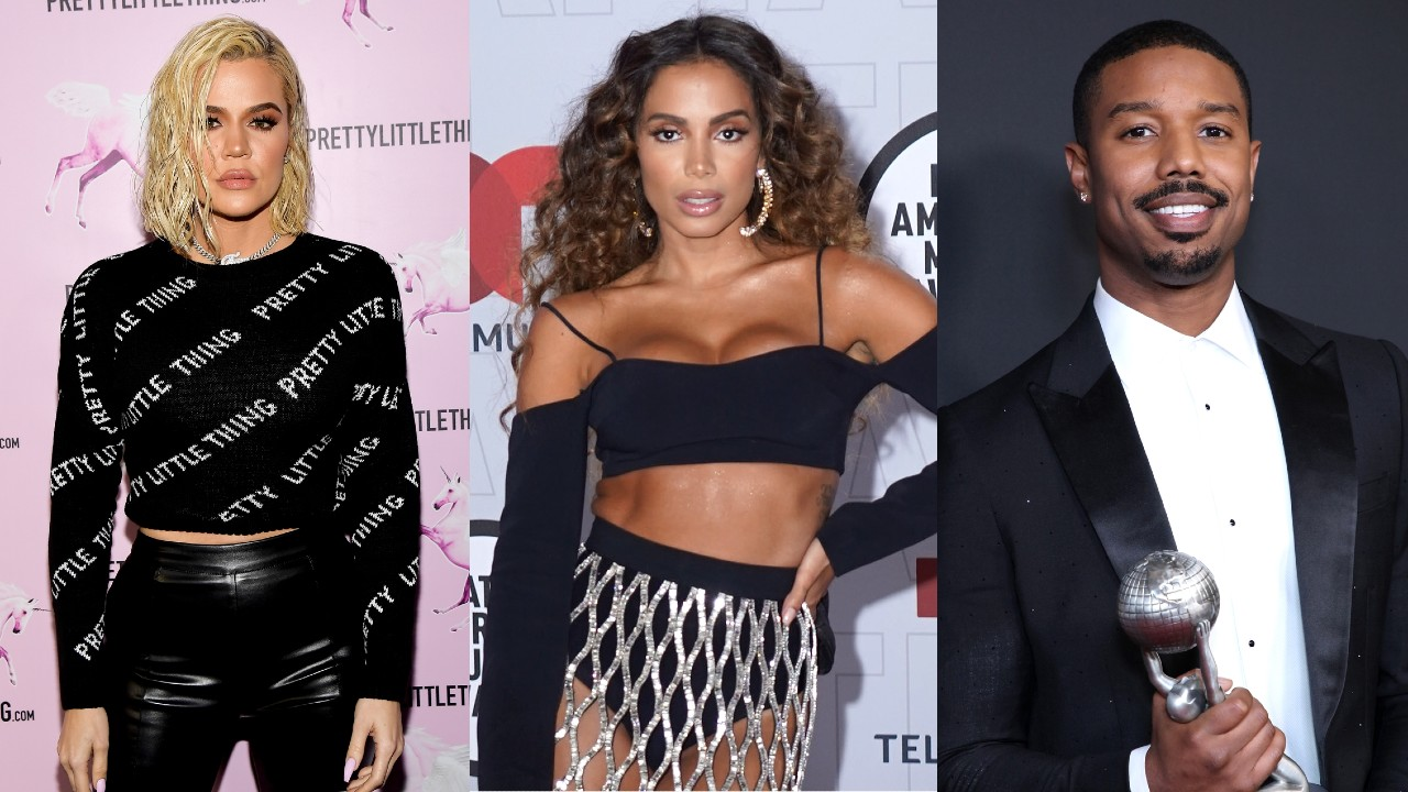 Anitta recebe presentes de Khloé Kardashian e Michael B. Jordan