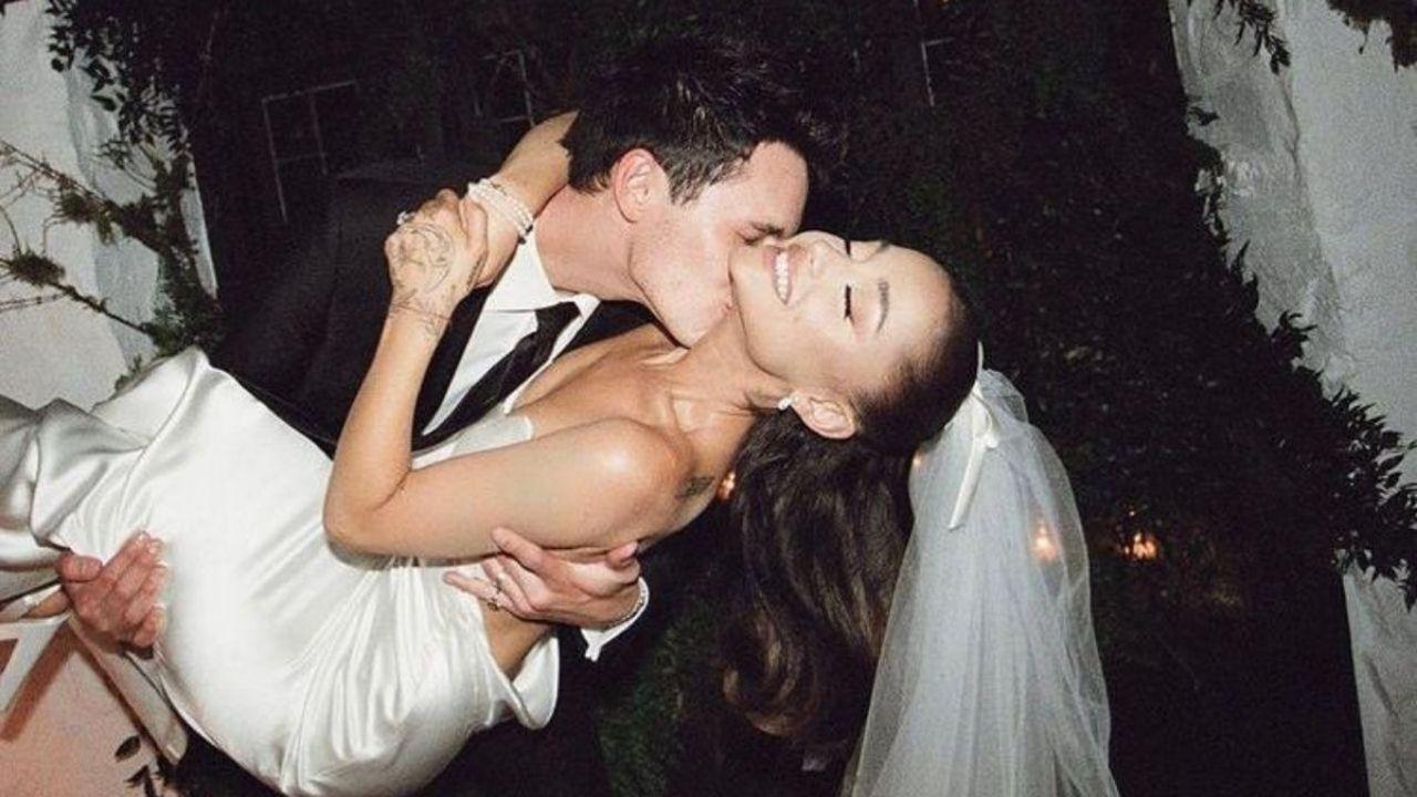 Ariana Grande bate recordes de likes com fotos do casamento