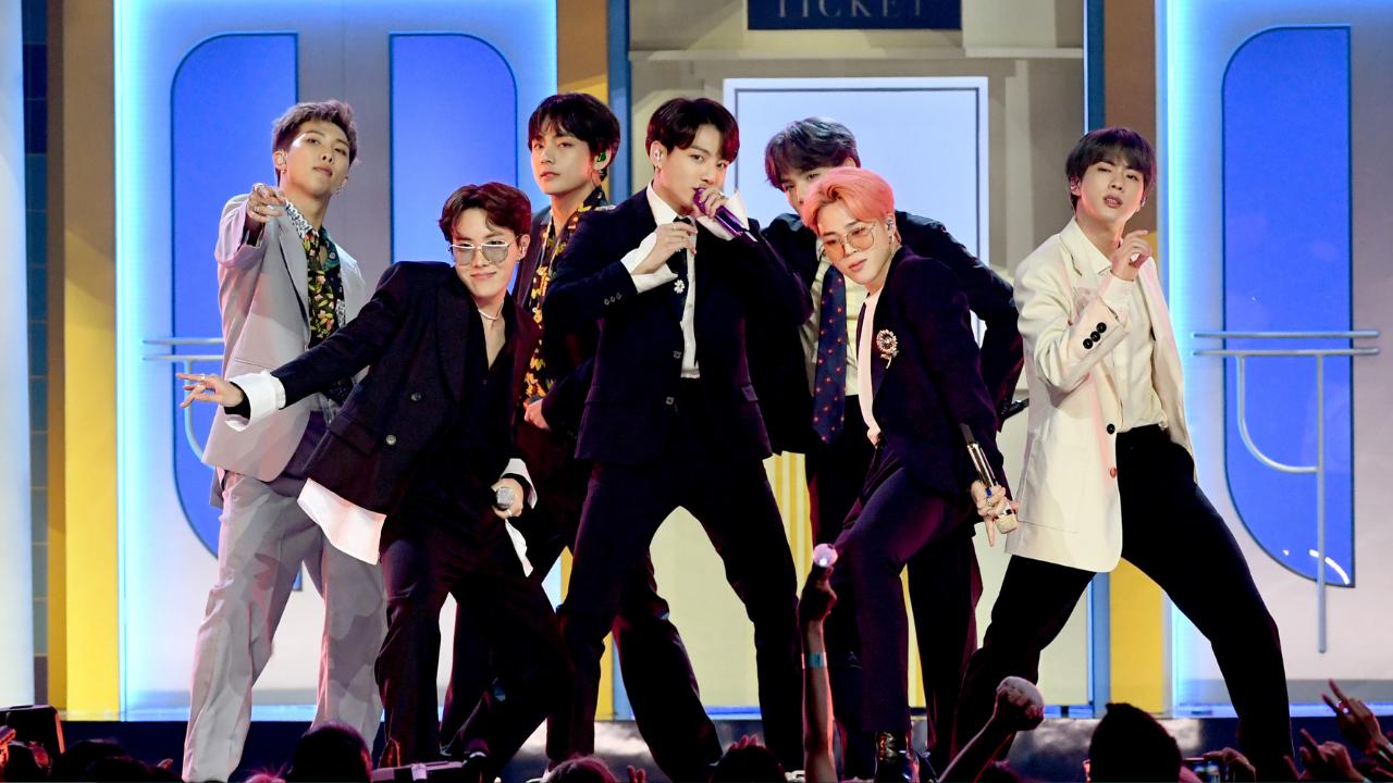 BTS no Billboard Music Awards de 2020