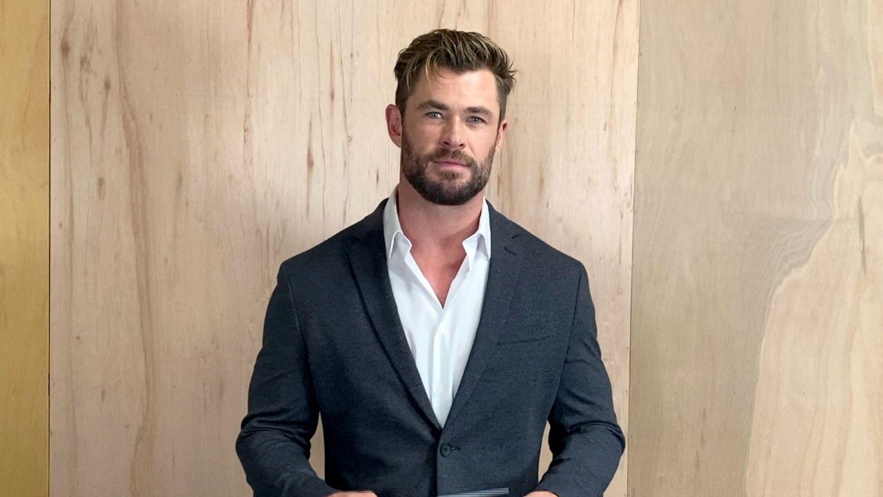 Chris Hemsworth brinca depois de filho dizer que gostaria de ser o Super-homem