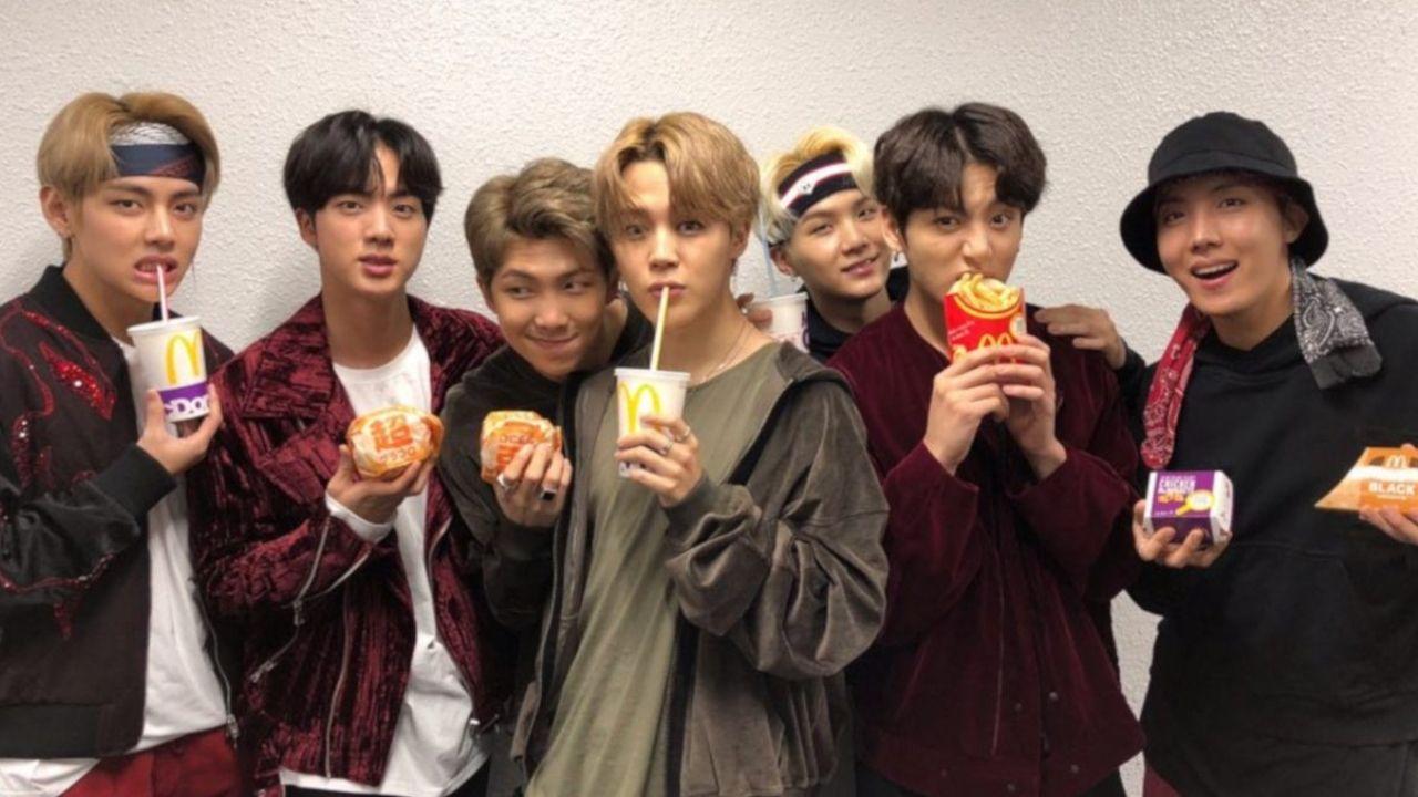 Combo especial do BTS em fast-food é divulgado