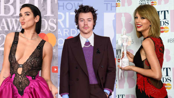 Dua Lipa, Harry Styles e Taylor Swift são vencedores do BRIT Awards 2021