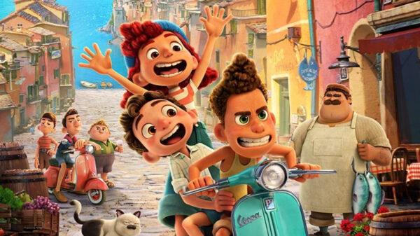 """Disney+ divulga novo pôster da animação """"Luca"""""""