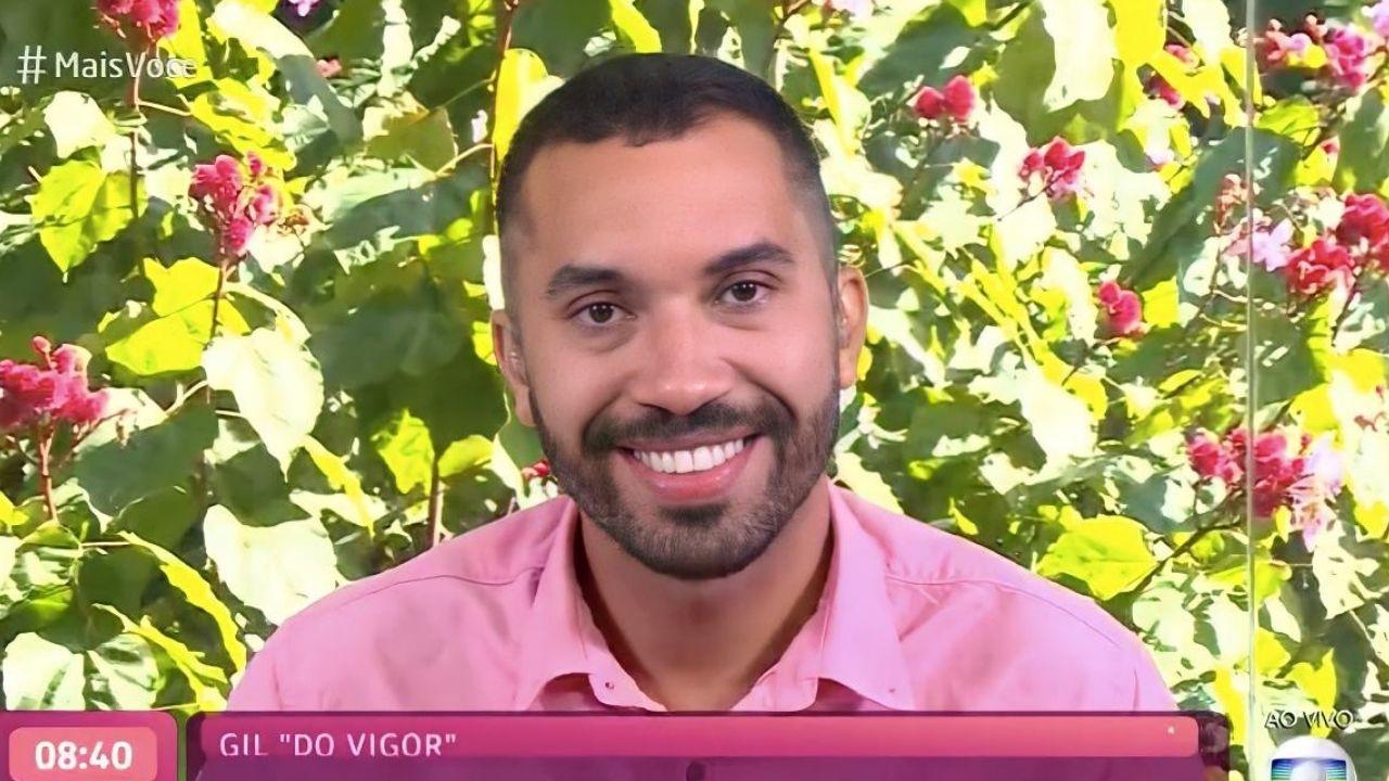 """Vigorou: Gilberto fala sobre sua grande trajetória no """"BBB21"""", em entrevista no """"Mais Você"""""""
