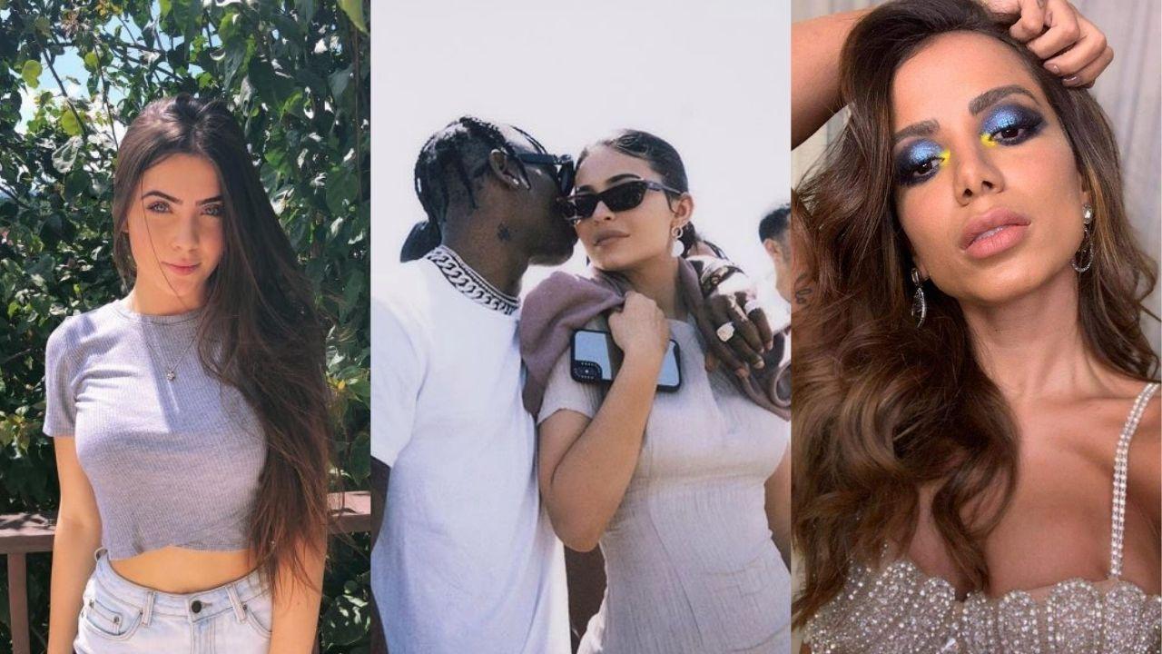 Jade Picon é flagrada em boate junto com Travis Scott, Kylie Jenner e Anitta
