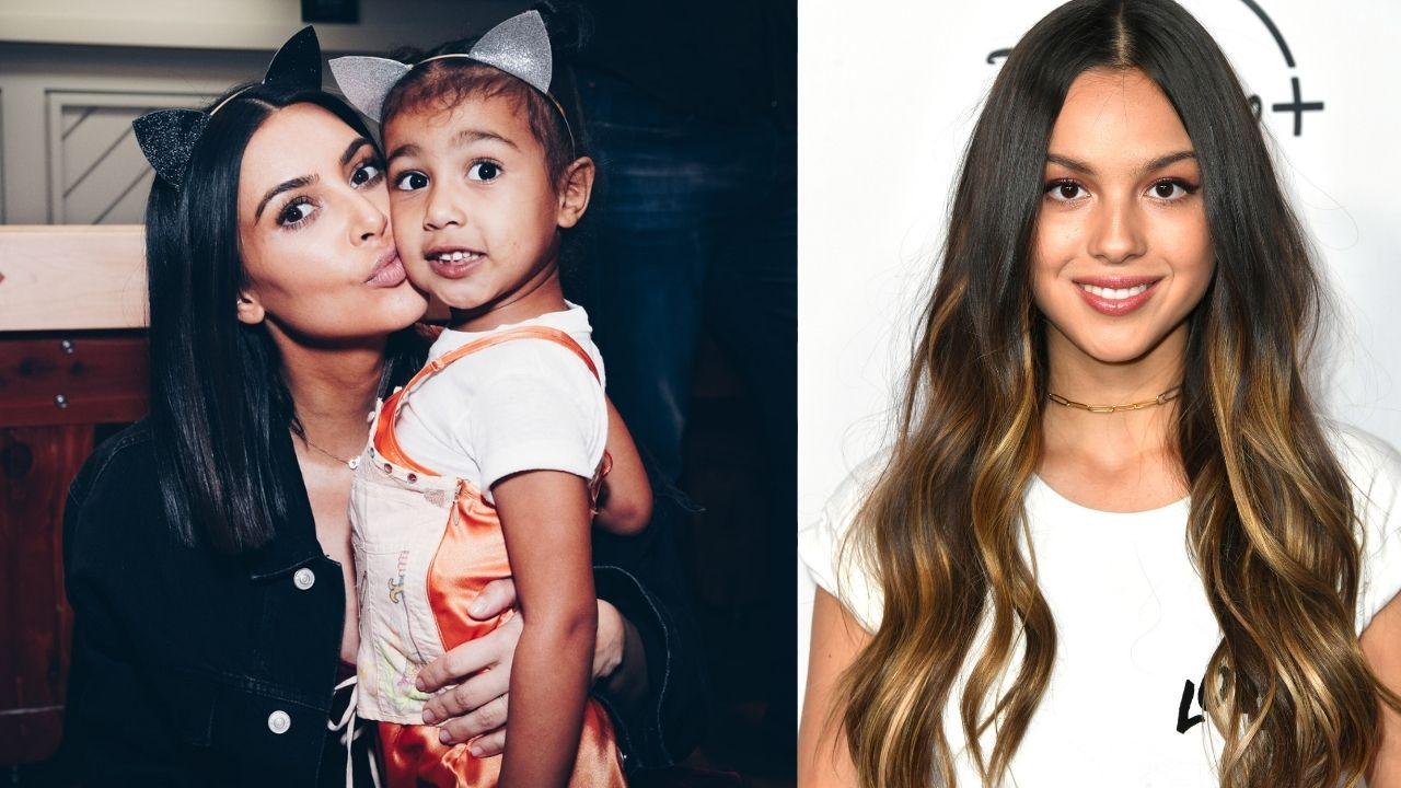 """Kim Kardashian diz escutar Olivia Rodrigo e sua filha desmente: """"Você nunca escuta isso"""""""