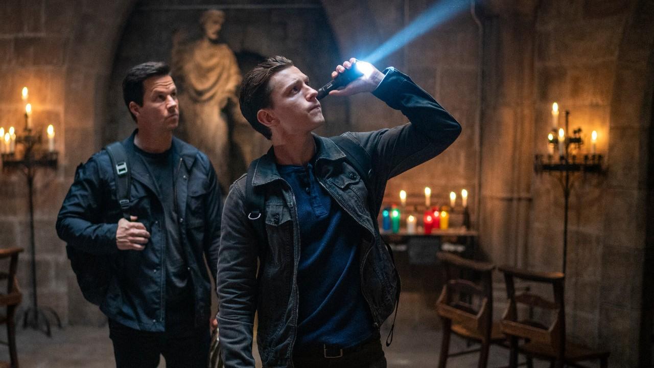 """Nova foto do filme """"Uncharted"""", com Tom Holland, é divulgada"""