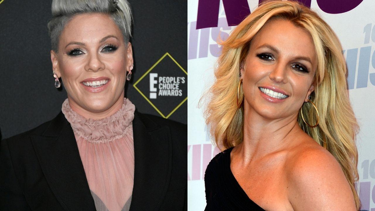 P!nk abre o jogo sobre rivalidade com Britney Spears