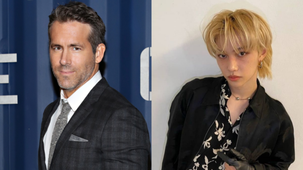 Ryan Reynolds reage à performance do grupo coreano Stray Kids