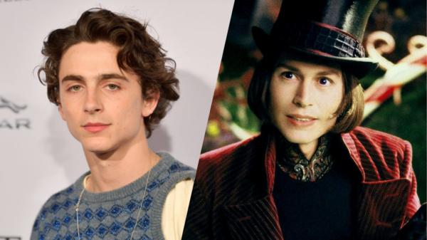 Timothée Chalamet fará Willy Wonka em novo reboot