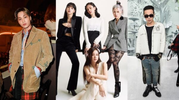 Idols que são embaixadores de marcas de luxo